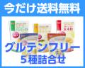【新発売】 グルテンフリー 5種詰合せ 《8/15まで送料無料!》