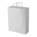 手提げ紙袋(白)