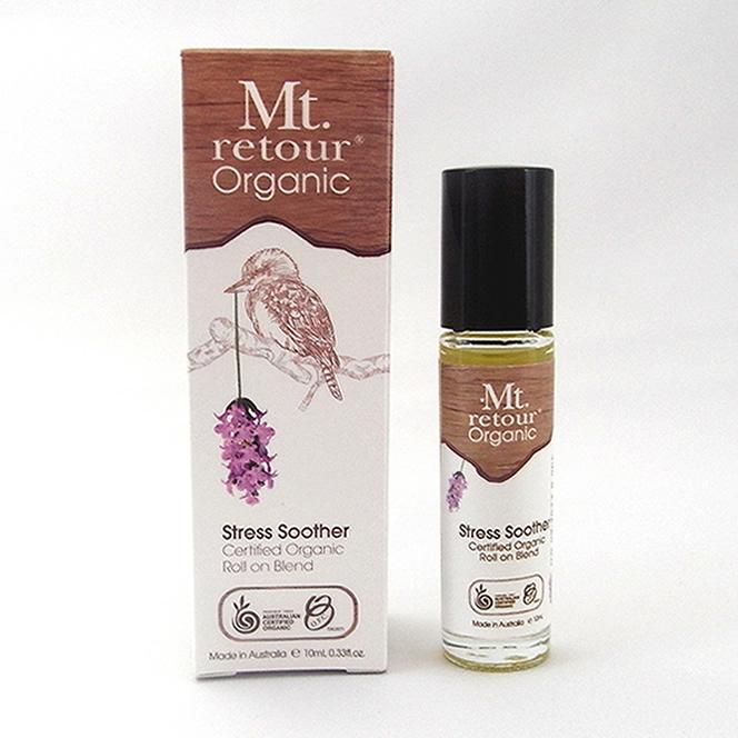 モンルトゥール ロールオン オーガニックアロマ フレグランス ストレススーサー (Stress Soother) 10ml