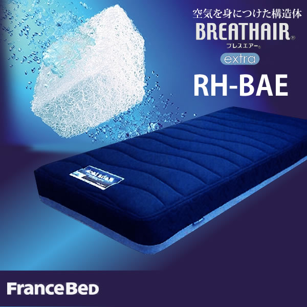 【メーカー直送品】ブレスエアー マットレス シングルフランスベッド リハテック RH-BAE 【代引き不可】