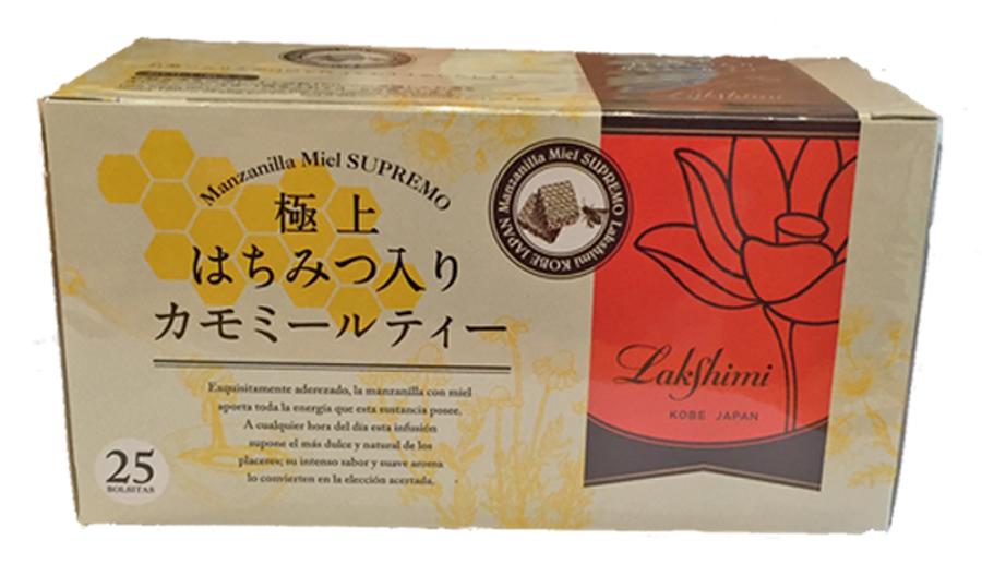 カモミールティー 極上 はちみつ入り カモミールティー 紅茶専門店 ラクシュミー ティーバック 25個