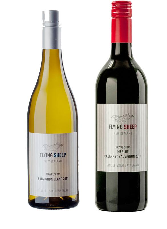 フライングシープワイン2本セット       (メルロー/カベルネソーヴィニヨン・ソーヴィニヨンブラン)