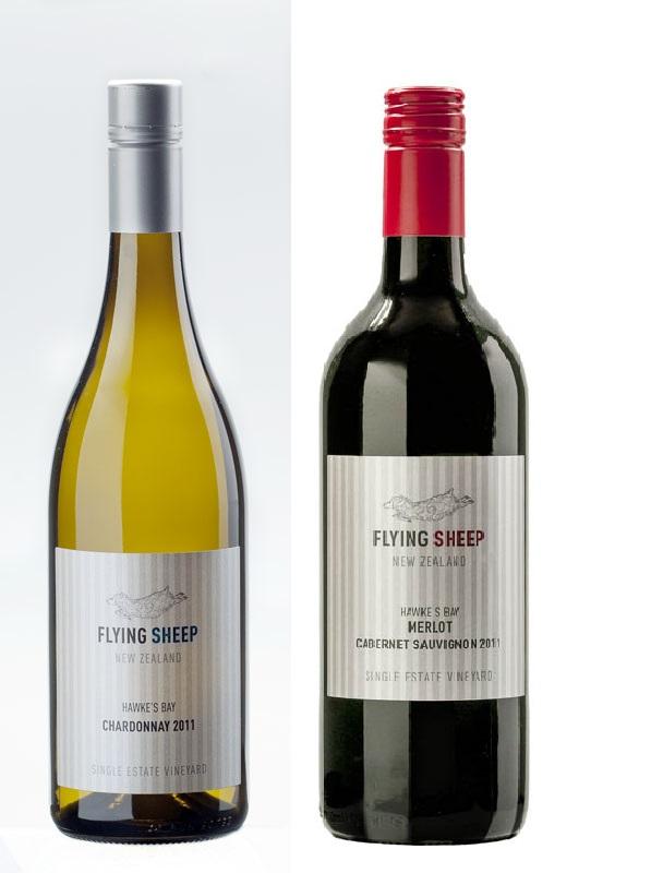 フライングシープワイン2本セット       (メルロー/カベルネソーヴィニヨン・シャルドネ)