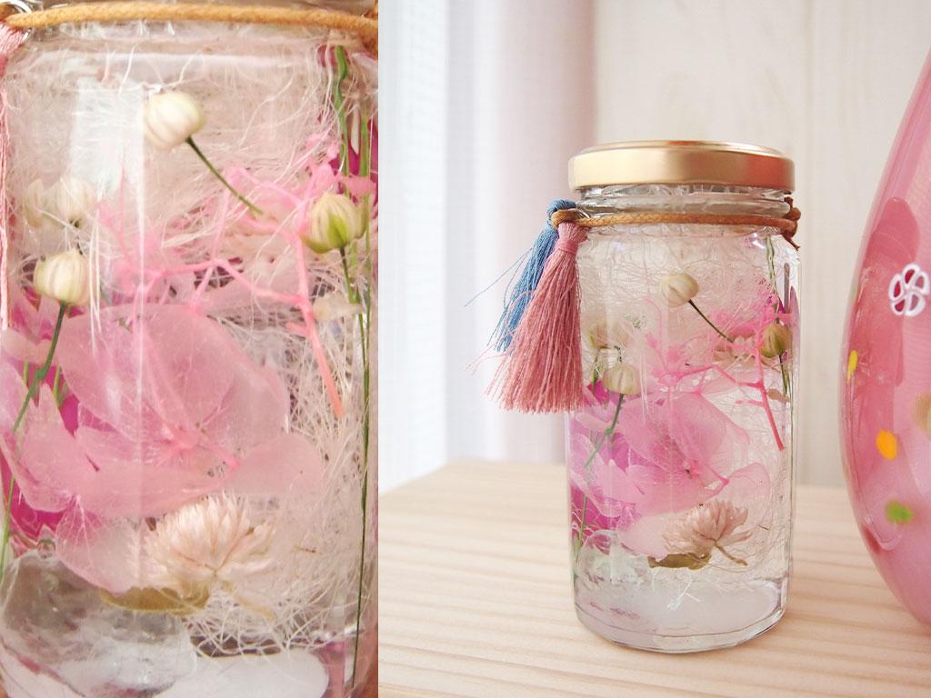 和ハーバリウム かわいい仏具 かわいい仏花 あかちゃん仏花 手元供養 水子供養