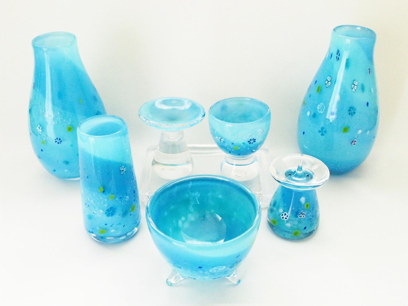 赤ちゃんの仏具 子供の仏具 かわいい仏具 水色仏具 男の子 水子供養 小物 通販