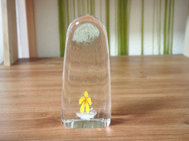 ガラスの位牌 子供のお位牌 赤ちゃんの位牌 水子供養 手元供養 かわいい位牌 子供仏具