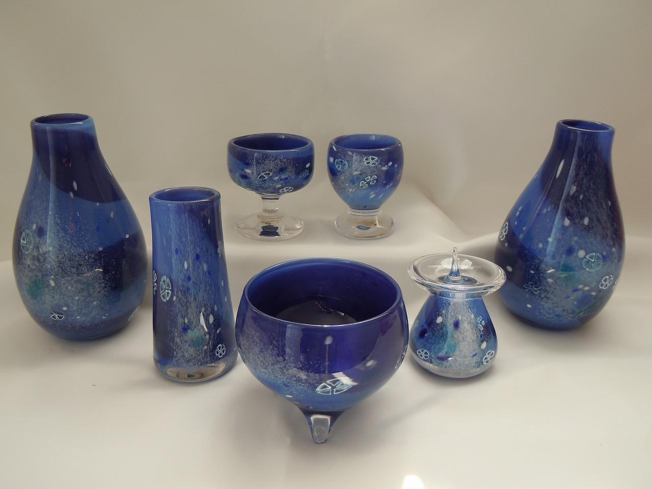ブルーの仏具