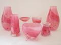 ピンクの仏具 かわいい