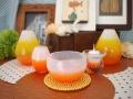 kawaii かわいい仏具 オレンジ 黄色の仏具 子供の仏具