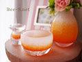 オレンジ仏具 かわいい仏具 こどもの仏具 赤ちゃんの仏具 供養 水子供養 グリーフ 胎児の仏具 ガラスの仏具 子どもの仏壇