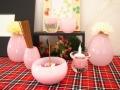 かわいい仏具 泡 バブル ピンク