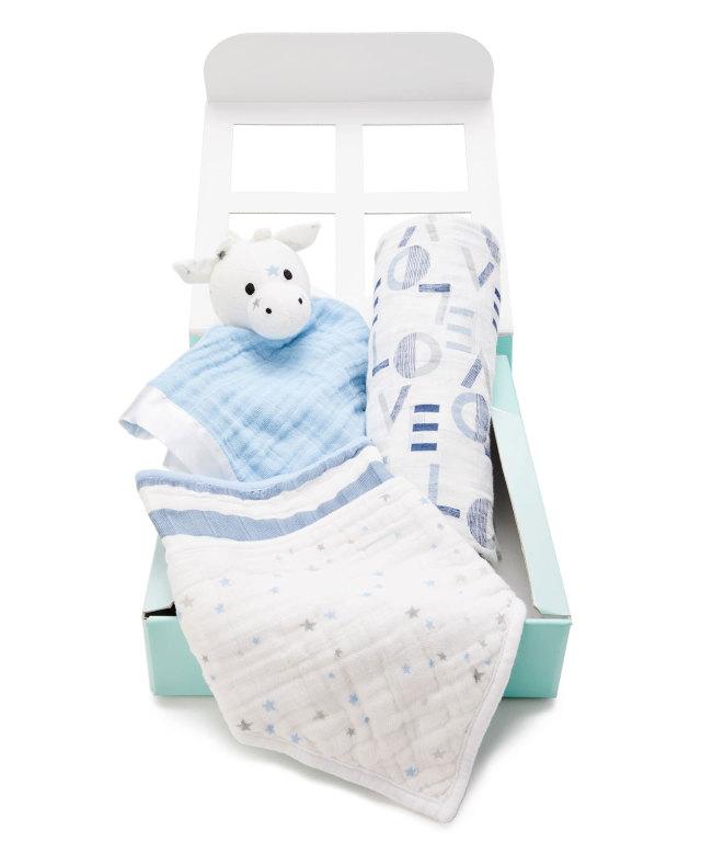エイデンアンドアネイ 日本限定 新生児ギフトセット(出産祝い) 男の子用