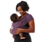 抱っこ紐 ベビーケターン レギュラーコットン エッグプラント 新生児 簡単 コンパクト