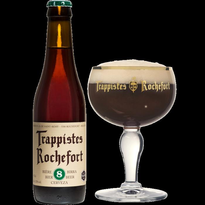 ロシュフォール8瓶330ml_ボトル+グラス