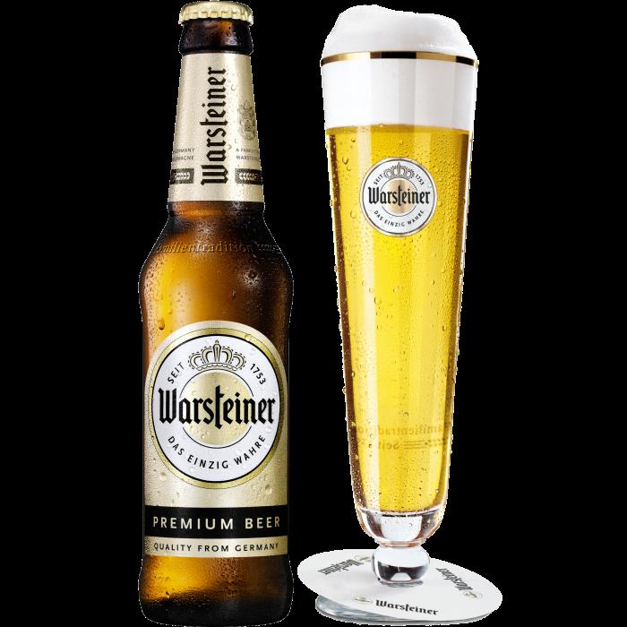 ヴァルシュタイナー瓶330ml_ボトル+グラス