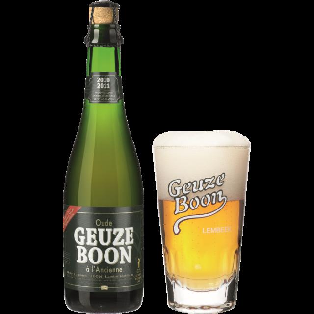 ブーン・グース瓶375ml_ボトル+グラス