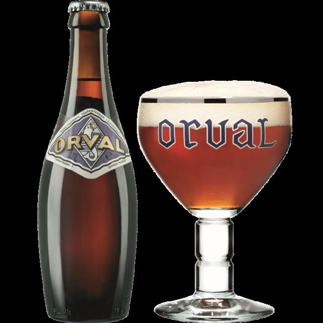 オルヴァル瓶330ml_ボトル+グラス