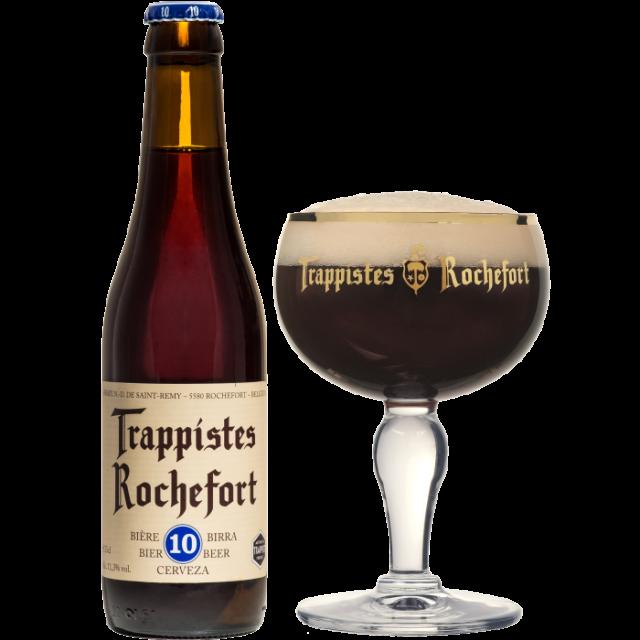 ロシュフォール10瓶330ml_ボトル+グラス