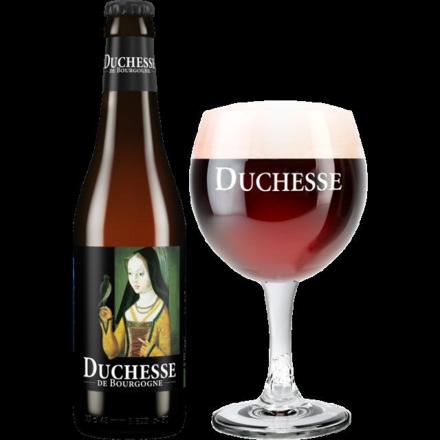 ドゥシャス・デ・ブルゴーニュ瓶330ml_ボトル+グラス