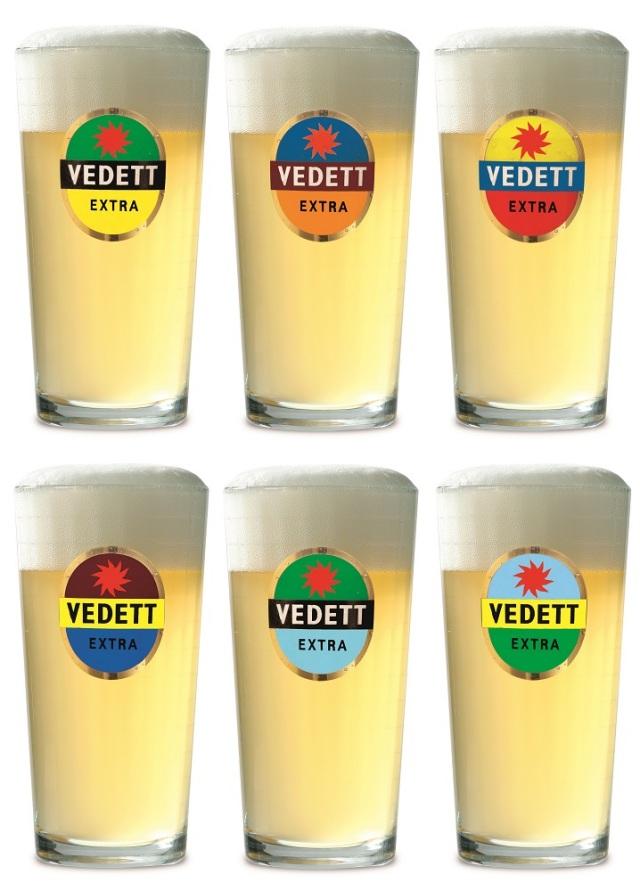 ヴェデット・グラス6色