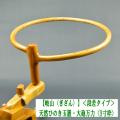 【岐山】天然ひのき段差玉置・大砲万力(9寸枠)