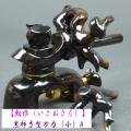 【勳作】黒柿弓型万力(小)A