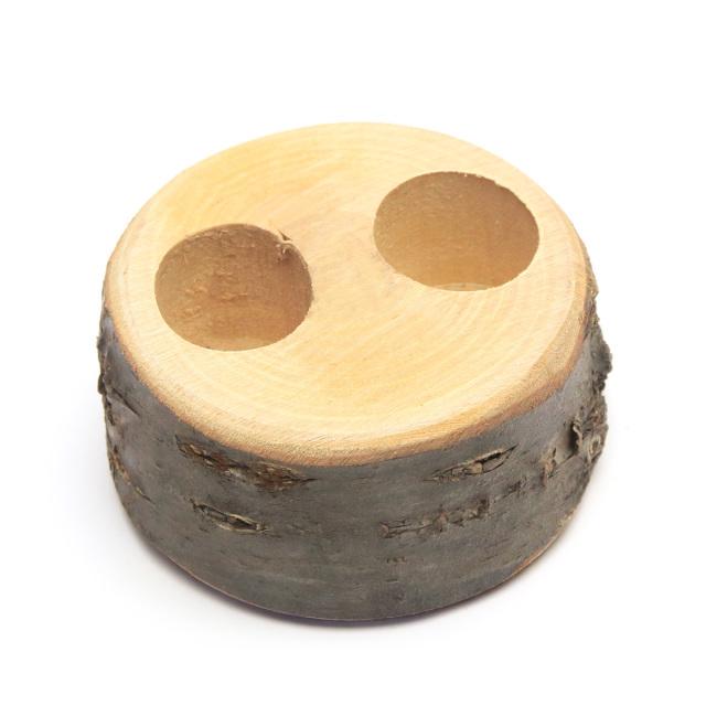 エサ台・エサ皿 16グラム用2穴木製 販売
