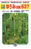 埼玉原種育成会 ゆうみ(結実)637 キュウリ 350粒