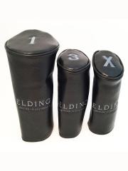 ヘッドカバー 3本セット(1-3-X) - ブラック バッファロー