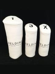 ヘッドカバー 3本セット(1-3-X) - ホワイト バッファロー