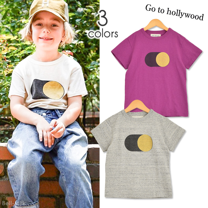 ft-20SS-1202406 GTH(ゴートゥーハリウッド) テンジク ON OFF TEE 【Go to Hollywood】【20SS】