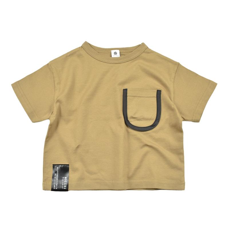 br-20sm-300133_BE ややビッグ Tシャツ [BE.ベージュ] 【Jeans-b】【夏物】