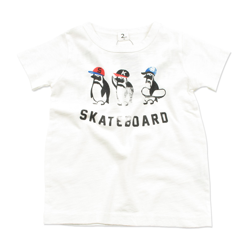 br-20sp-800102_OW PENGUIN Tシャツ [OW.オフホワイト] 【Jeans-b 2nd】【春夏物】