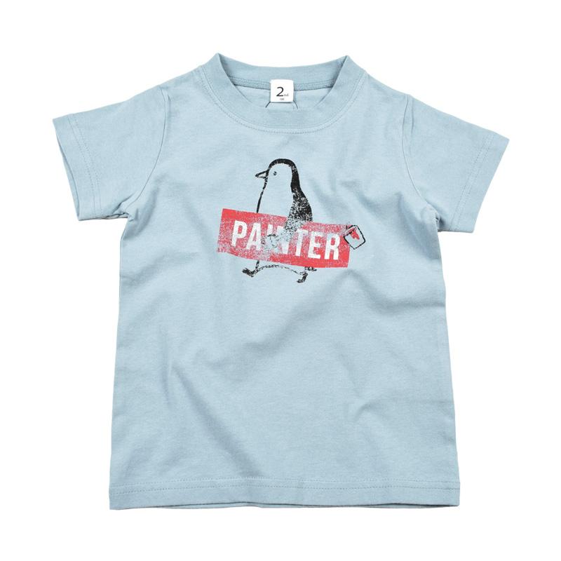 br-20sm-800143_SA painter Tシャツ  [SA.サックス] 【Jeans-b 2nd】【夏物】