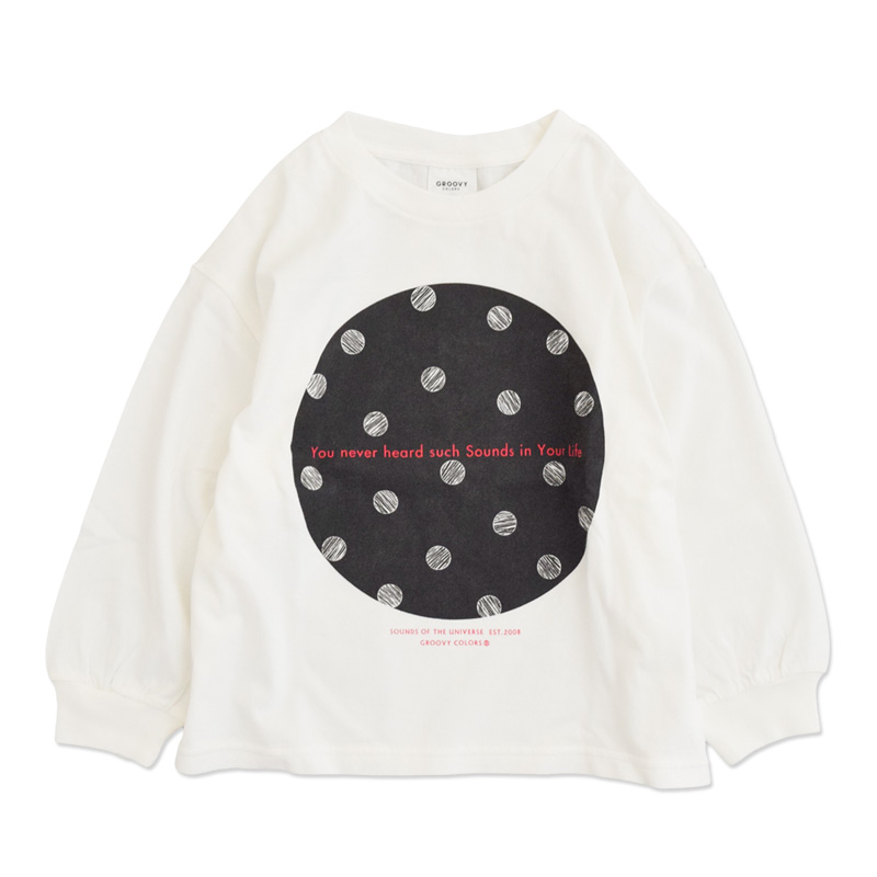 ft-20aw-1608406_2 テンジク CIRCLE BAT WING TEE [2.ブラック] GROOVY COLORS 【20AW】
