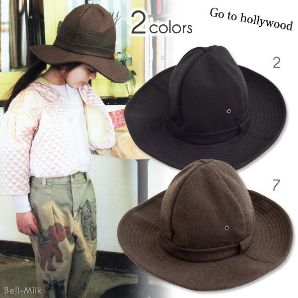 ft-18AW-1488014 GTH(ゴートゥーハリウッド)メルトン マウンテン HAT【Go to Hollywood】【18AW】