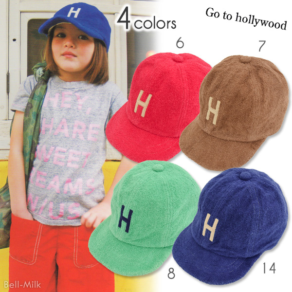 ft-18SS-1482003 GTH(ゴートゥーハリウッド)パイル H CAP【Go to Hollywood】【18SS】