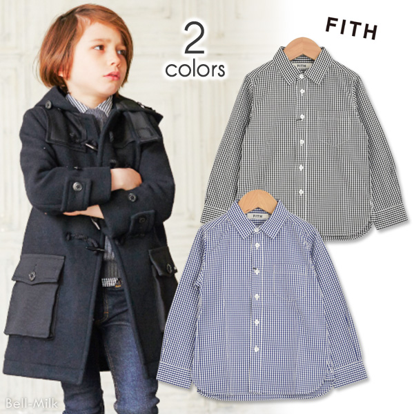 ft-18AW-288105 FITH(フィス)ギンガムCH L/Sシャツ【18AW】