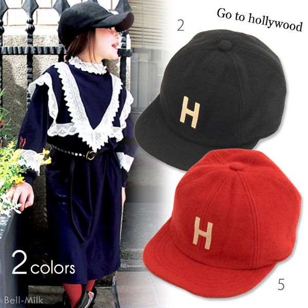 ft-18AW-1488015 GTH(ゴートゥーハリウッド)メルトン H CAP【Go to Hollywood】【18AW】