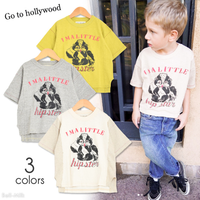 ft-19SS-1292413 GTH(ゴートゥーハリウッド) テンジク SKUNK リメイク TEE 【Go to Hollywood】【19SS】