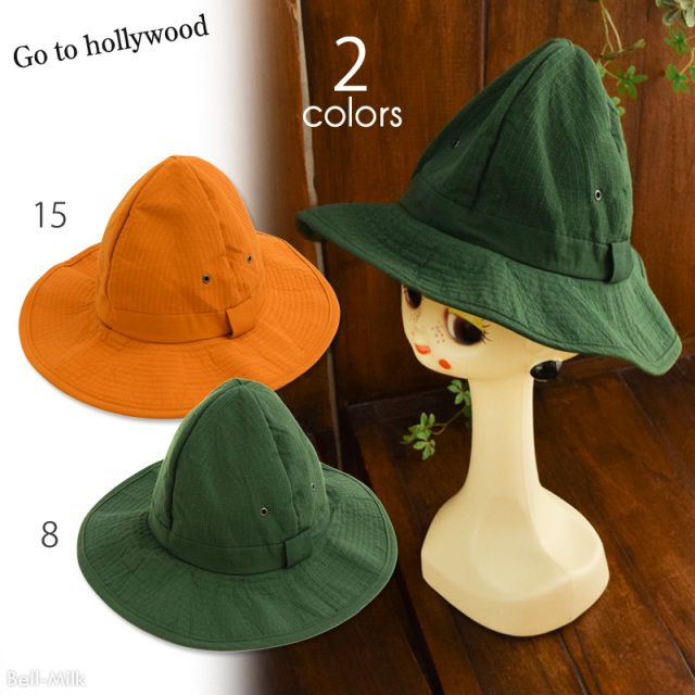 ft-17SS-1472016 GTH(ゴートゥーハリウッド) マウンテンクロス HAT【Go to Hollywood】【17SS】