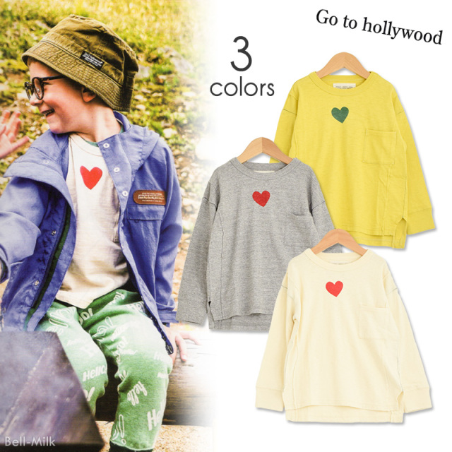 ft-19AW-1298416 GTH(ゴートゥーハリウッド) テンジク ハート TEE 【Go to Hollywood】【19AW】