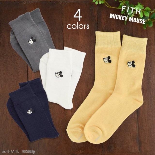 ft-19SS-3492004 FITH(フィス) Mickey SOX 【ミッキーコラボ】【19SS】