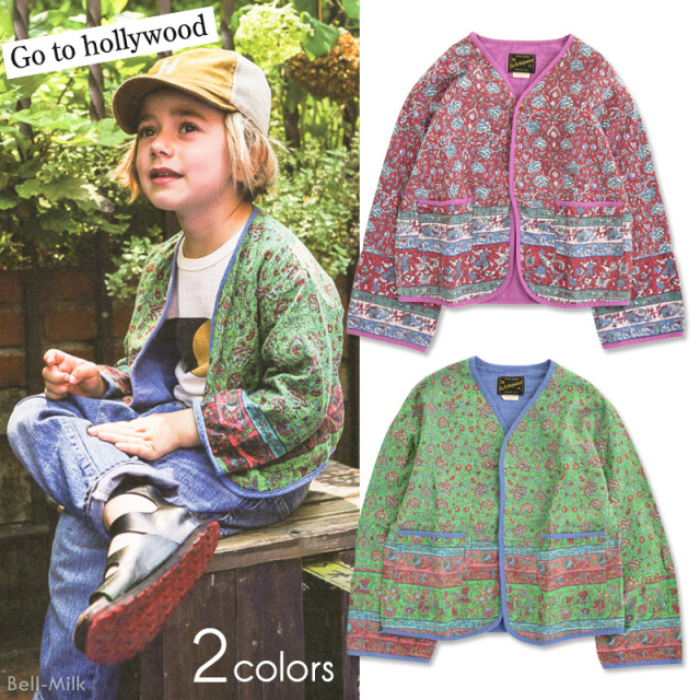 ft-20SS-1202205 GTH(ゴートゥーハリウッド) インドプリント フォーク JK 【Go to Hollywood】【20SS】