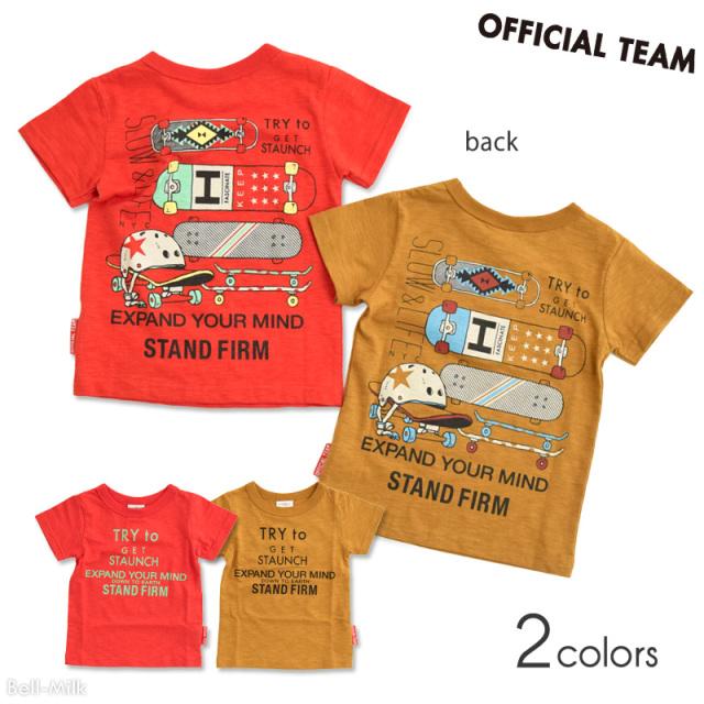 nw-21SP-1121105 OFFICIAL TEAM SKATEBOARD Tシャツ 【オフィシャルチーム】【21年春物】