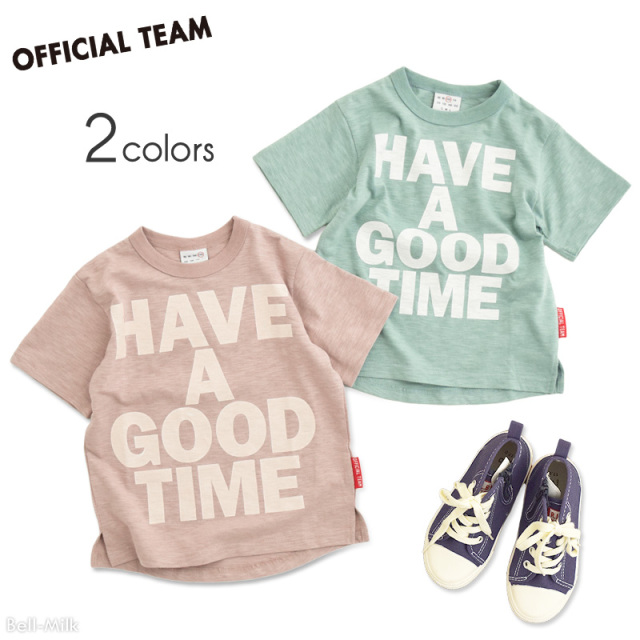 nw-21SP-1121106 OFFICIAL TEAM BIG LOGO Tシャツ 【オフィシャルチーム】【21年春物】