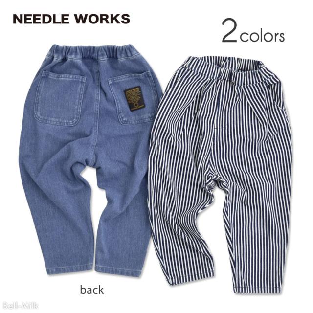 nw-21SP-2121112 NEEDLE WORKS Cut-Denim パンツ 【ニードルワークス】【21年春物】