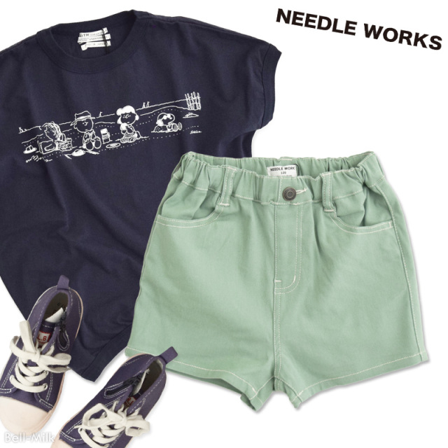 nw-21SP-2121615 NEEDLE WORKS SP ストレッチ ハーフパンツ 【ニードルワークス】【21年春物】