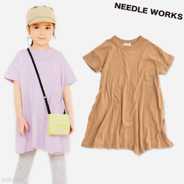 nw-21SP-2121722 NEEDLE WORKS Asymmetry ワンピース 【ニードルワークス】【21年春物】
