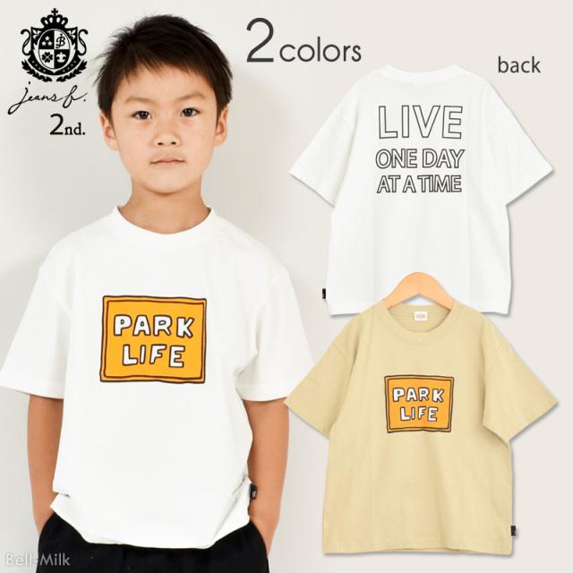 br-21sp-810103 Jeans-b 2nd PARK LIFE ビッグTシャツ 【ジーンズベー セカンド】【21年春物】【アメカジ】